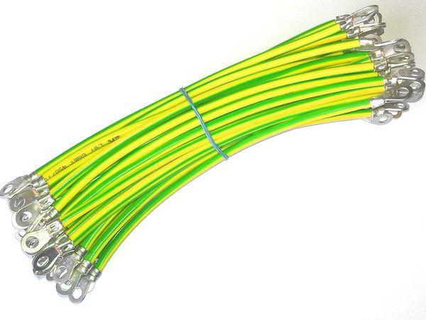 Zemnící kabely s krimpovanými oky / Grounding cables with crimping lugs
