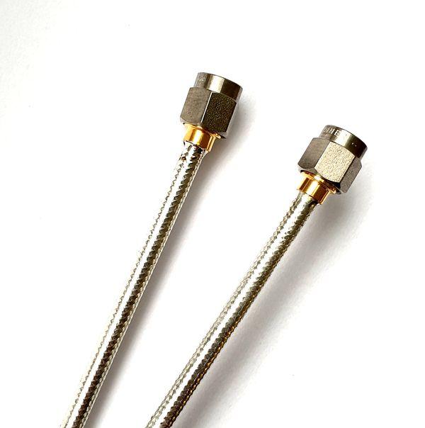 Semirigid kabely s SMA  kon. pro velmi vysoké frekvence / Semi-rigid cables for UHF
