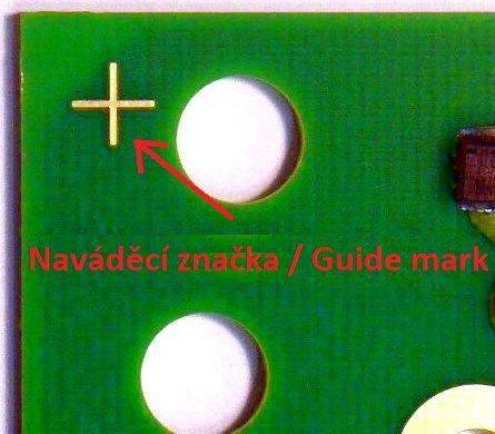Naváděcí značka / Guide mark